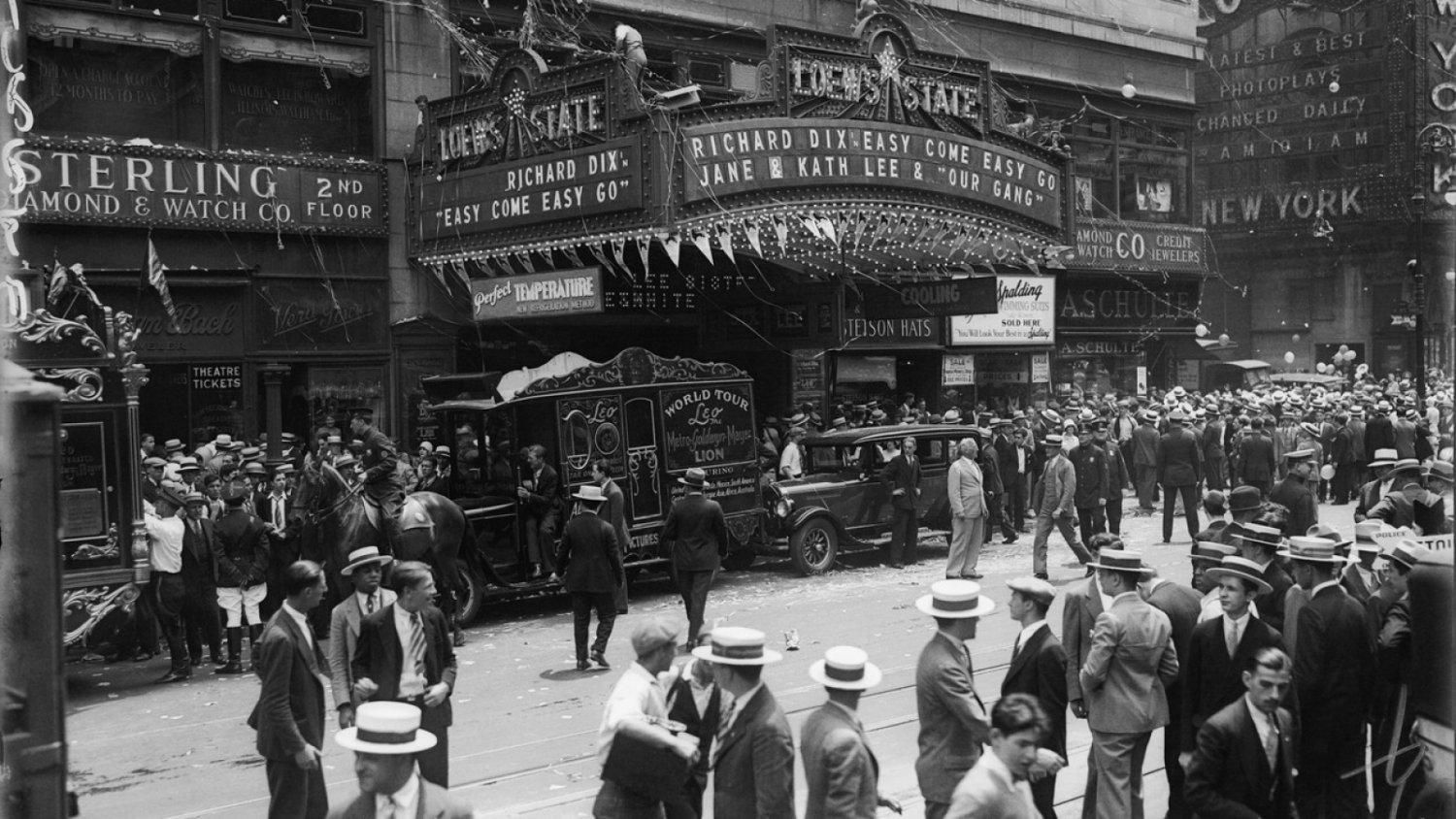 Movie Theater 1920